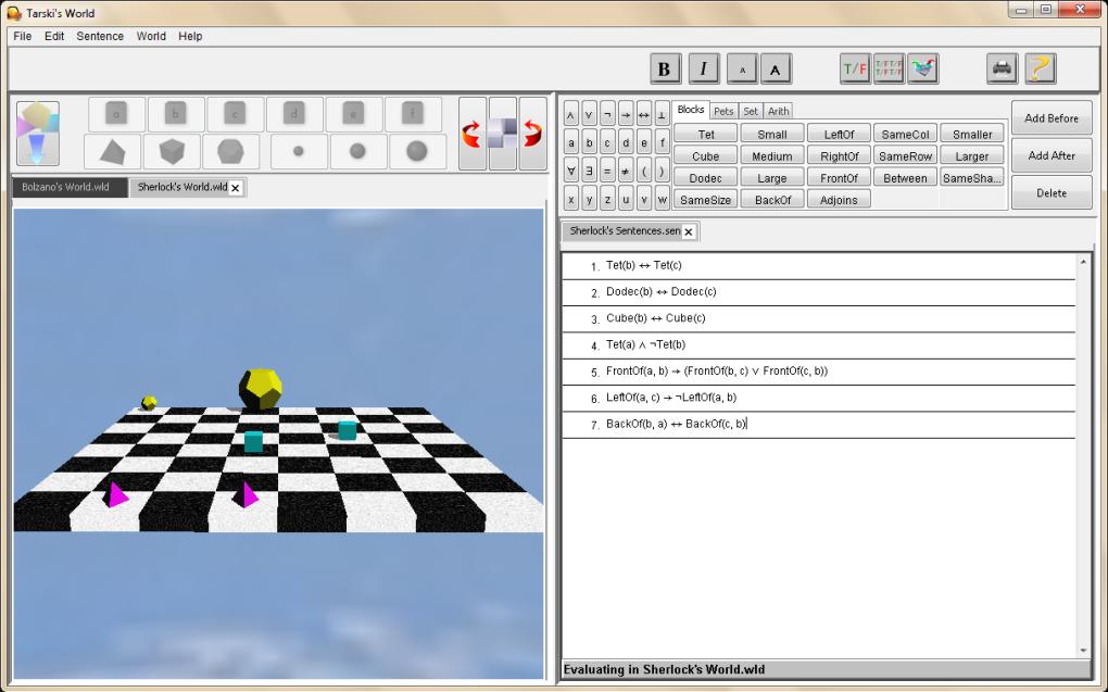 tarskis world software